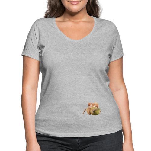 eekhorentje - Women's Organic V-Neck T-Shirt by Stanley & Stella
