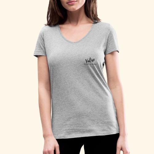 Valise Black - T-shirt bio col V Stanley & Stella Femme
