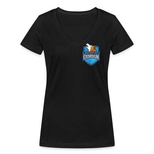Emc. - Frauen Bio-T-Shirt mit V-Ausschnitt von Stanley & Stella