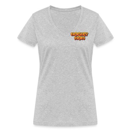 Hockeymom png - Ekologisk T-shirt med V-ringning dam från Stanley & Stella