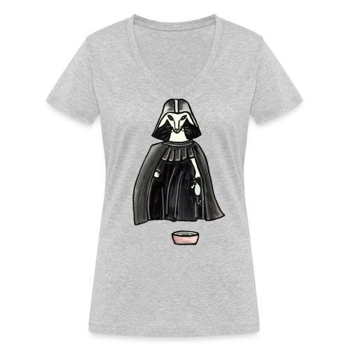 Darth Albert - Ekologisk T-shirt med V-ringning dam från Stanley & Stella