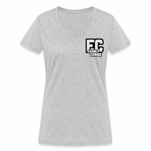FAMILY CRINGE - Ekologisk T-shirt med V-ringning dam från Stanley & Stella