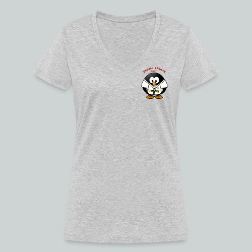 VisbyPenguins - Ekologisk T-shirt med V-ringning dam från Stanley & Stella
