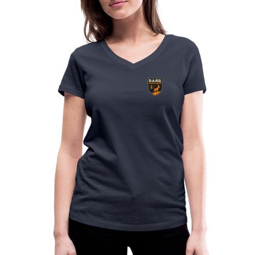 Chasse au dahu - T-shirt bio col V Stanley & Stella Femme