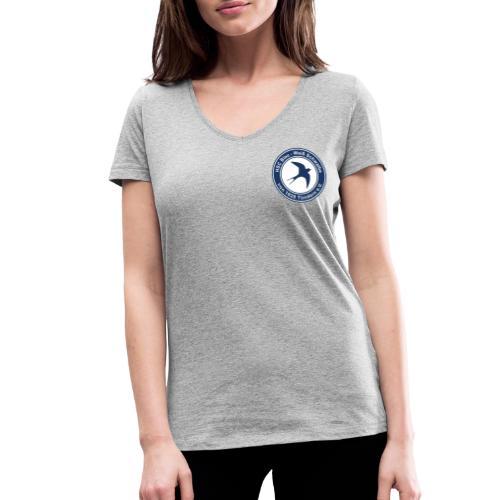 Classic Logo - Frauen Bio-T-Shirt mit V-Ausschnitt von Stanley & Stella