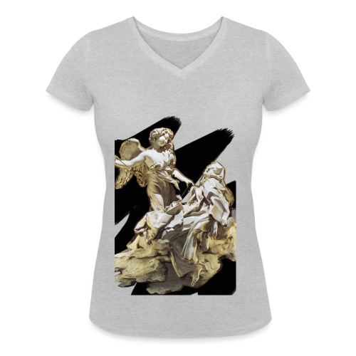 Éxtasis de Santa teresa - Camiseta ecológica mujer con cuello de pico de Stanley & Stella