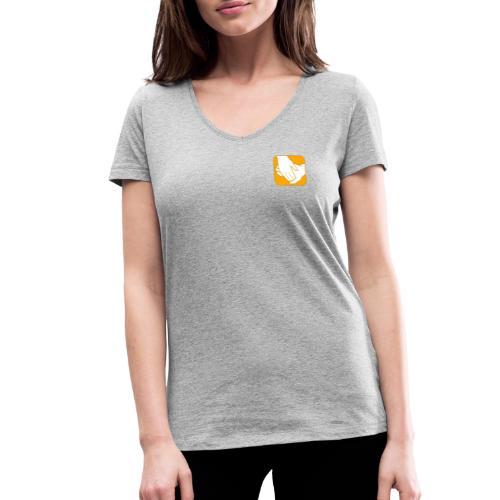 Logo der ÖRSG - Rett Syndrom Österreich - Frauen Bio-T-Shirt mit V-Ausschnitt von Stanley & Stella
