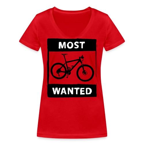 MTB - most wanted 2C - Frauen Bio-T-Shirt mit V-Ausschnitt von Stanley & Stella