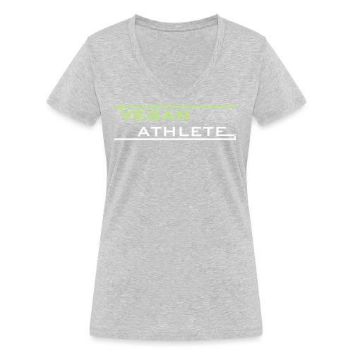 VEGAN ATHLETE - Frauen Bio-T-Shirt mit V-Ausschnitt von Stanley & Stella