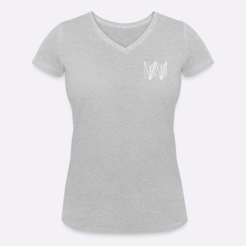 VeganVenues Official Logo - Women's Organic V-Neck T-Shirt by Stanley & Stella