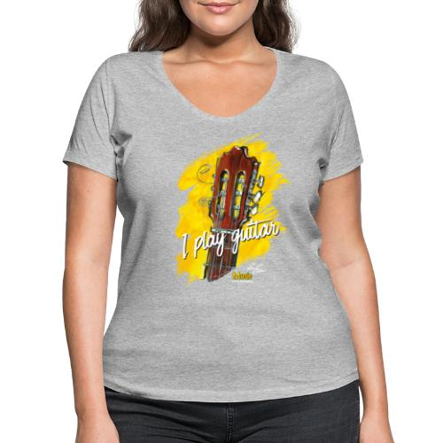 I play guitar - limited edition '19 - Frauen Bio-T-Shirt mit V-Ausschnitt von Stanley & Stella