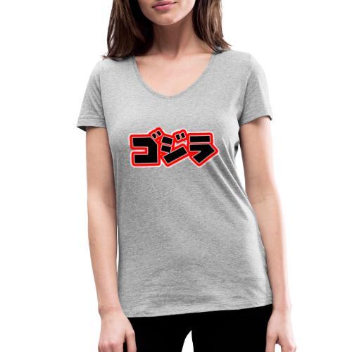 Comic Kanji - Frauen Bio-T-Shirt mit V-Ausschnitt von Stanley & Stella