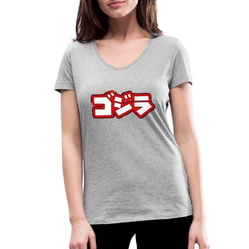 Comic Kanji´s - Frauen Bio-T-Shirt mit V-Ausschnitt von Stanley & Stella