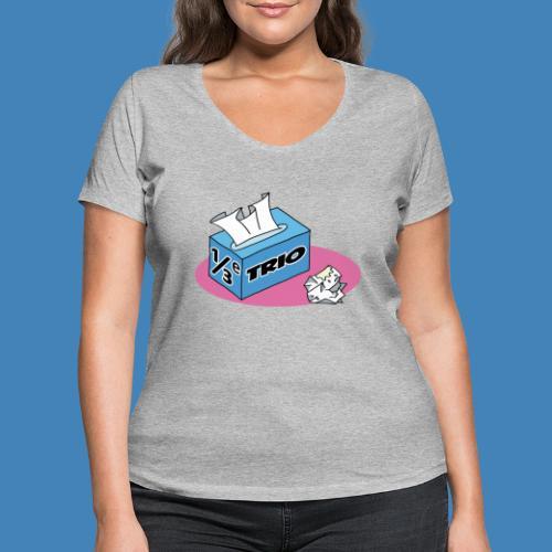 1/3e Trio - Vrouwen bio T-shirt met V-hals van Stanley & Stella