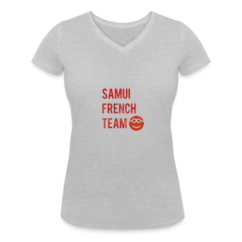 Logopit 1522626789347 - T-shirt bio col V Stanley & Stella Femme