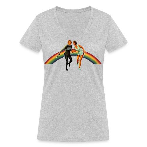 Logans Run Shirt - Frauen Bio-T-Shirt mit V-Ausschnitt von Stanley & Stella