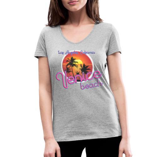 Venice - Vrouwen bio T-shirt met V-hals van Stanley & Stella