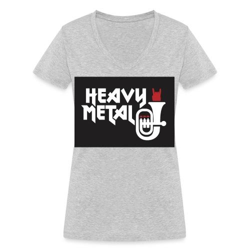 HeavyMetal MV Darscheid - Frauen Bio-T-Shirt mit V-Ausschnitt von Stanley & Stella