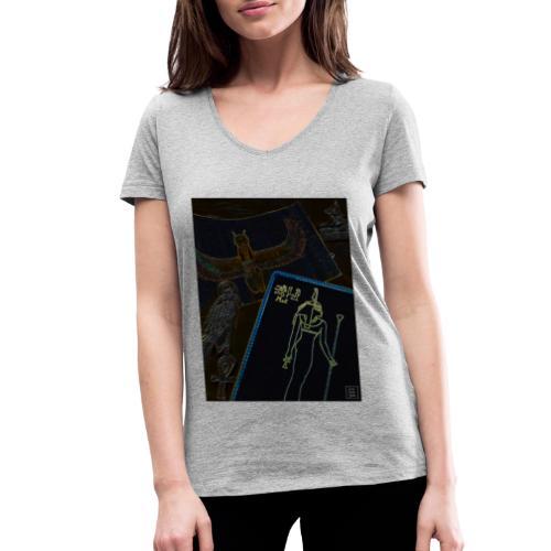 La Legge di Maat - T-shirt ecologica da donna con scollo a V di Stanley & Stella