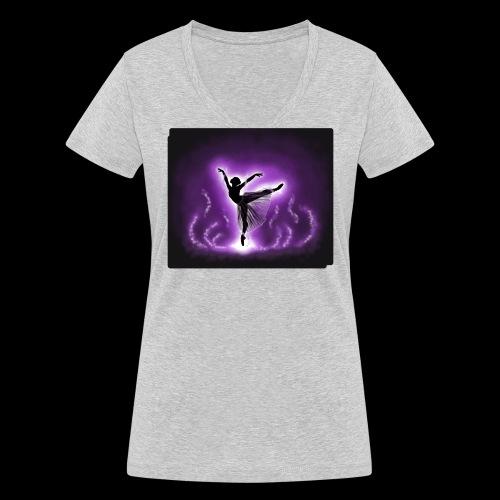 Dream Dancer - Women's Organic V-Neck T-Shirt by Stanley & Stella