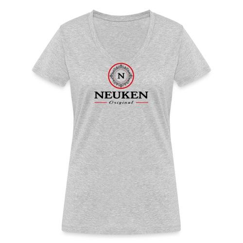 neuken original - Vrouwen bio T-shirt met V-hals van Stanley & Stella