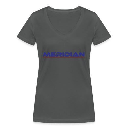 Meridian - T-shirt ecologica da donna con scollo a V di Stanley & Stella