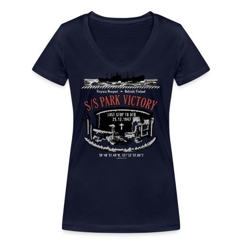 PARK VICTORY LAIVA - Tekstiilit ja lahjatuotteet - Stanley & Stellan naisten v-aukkoinen luomu-T-paita