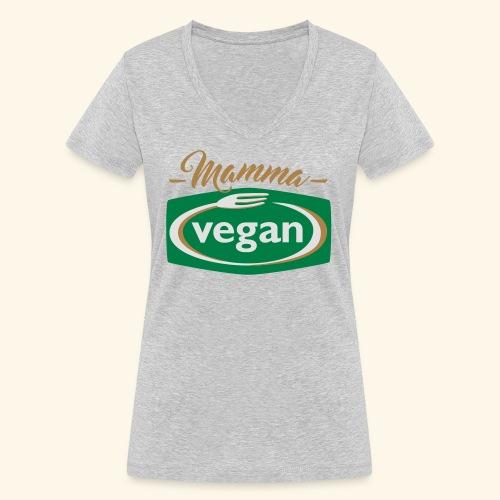 Mamma vegan del 2 - Ekologisk T-shirt med V-ringning dam från Stanley & Stella