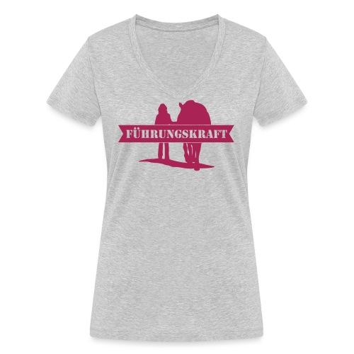 Vorschau: Führungskraft female - Frauen Bio-T-Shirt mit V-Ausschnitt von Stanley & Stella