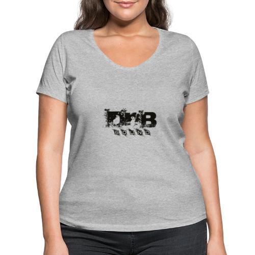 DNB Sound - T-shirt ecologica da donna con scollo a V di Stanley & Stella