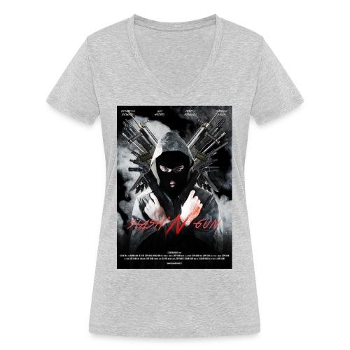 afficheslash - T-shirt bio col V Stanley & Stella Femme