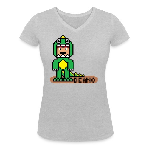 deano pixel neu png - Frauen Bio-T-Shirt mit V-Ausschnitt von Stanley & Stella