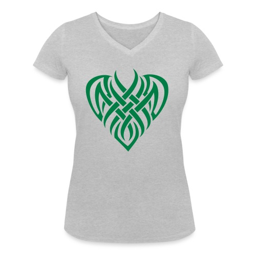 WiccHeart - T-shirt bio col V Stanley & Stella Femme