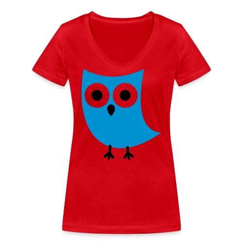 Uiltje - Vrouwen bio T-shirt met V-hals van Stanley & Stella