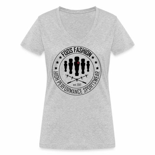 foosfashion - Frauen Bio-T-Shirt mit V-Ausschnitt von Stanley & Stella