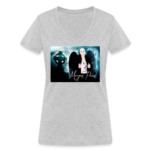 MORGAN PRIEST - T-shirt bio col V Stanley & Stella Femme