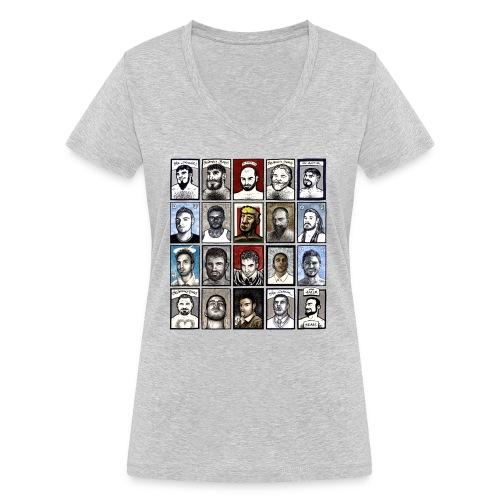 ACEO - T-shirt ecologica da donna con scollo a V di Stanley & Stella