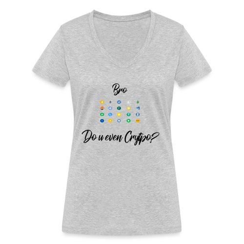 Crypto Bro - T-shirt bio col V Stanley & Stella Femme