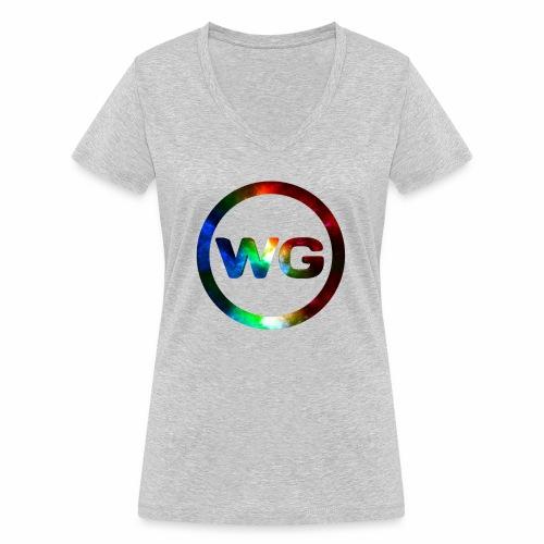 wout games - Vrouwen bio T-shirt met V-hals van Stanley & Stella
