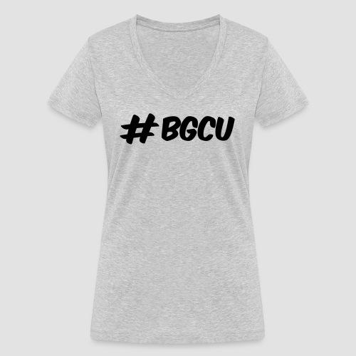 bgcuBLACK - Frauen Bio-T-Shirt mit V-Ausschnitt von Stanley & Stella
