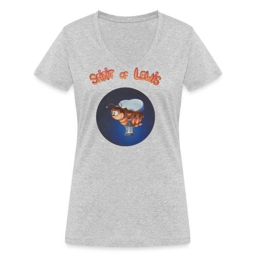 Spirit of Lewis - T-shirt bio col V Stanley & Stella Femme