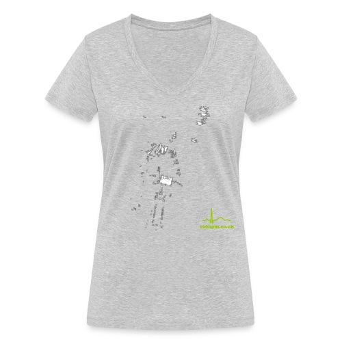 night7 - Women's Organic V-Neck T-Shirt by Stanley & Stella