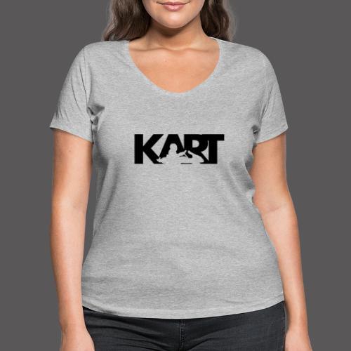 KART - Frauen Bio-T-Shirt mit V-Ausschnitt von Stanley & Stella