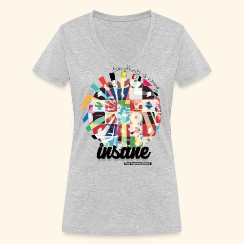 Wrong - T-shirt bio col V Stanley & Stella Femme