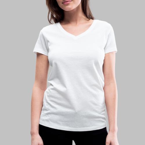 DIE MIT DEM HUND GEHT - Frauen Bio-T-Shirt mit V-Ausschnitt von Stanley & Stella