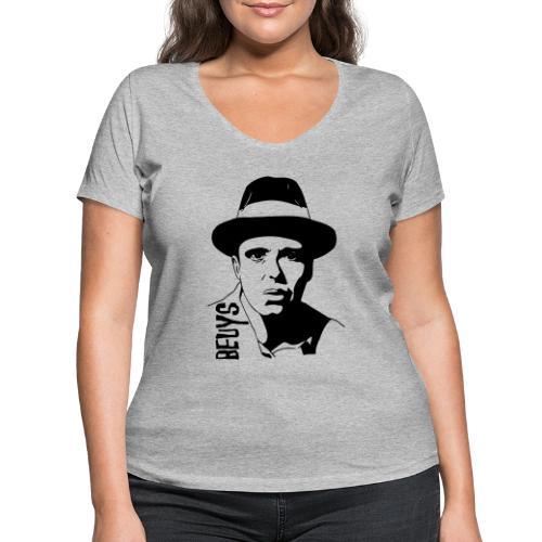 Joseph Beuys - Frauen Bio-T-Shirt mit V-Ausschnitt von Stanley & Stella