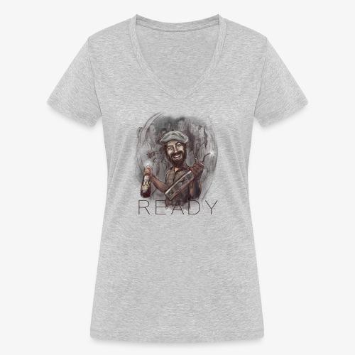 Party - Camiseta ecológica mujer con cuello de pico de Stanley & Stella