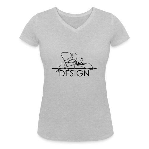 sasealey design logo png - Women's Organic V-Neck T-Shirt by Stanley & Stella