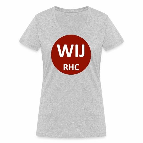 WIJ RHC - Vrouwen bio T-shirt met V-hals van Stanley & Stella