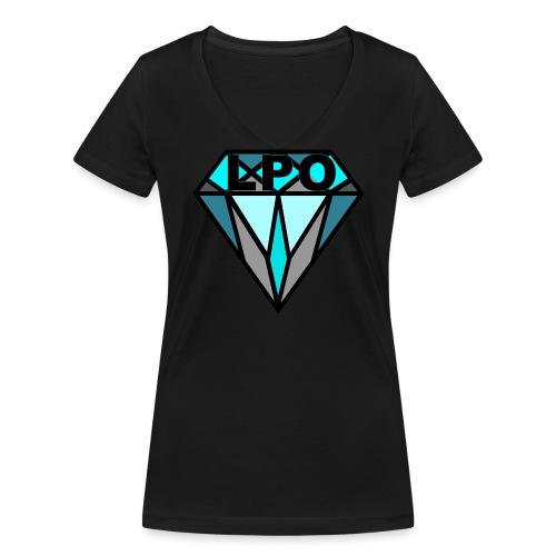 LPO Diamand Bunt png - Frauen Bio-T-Shirt mit V-Ausschnitt von Stanley & Stella